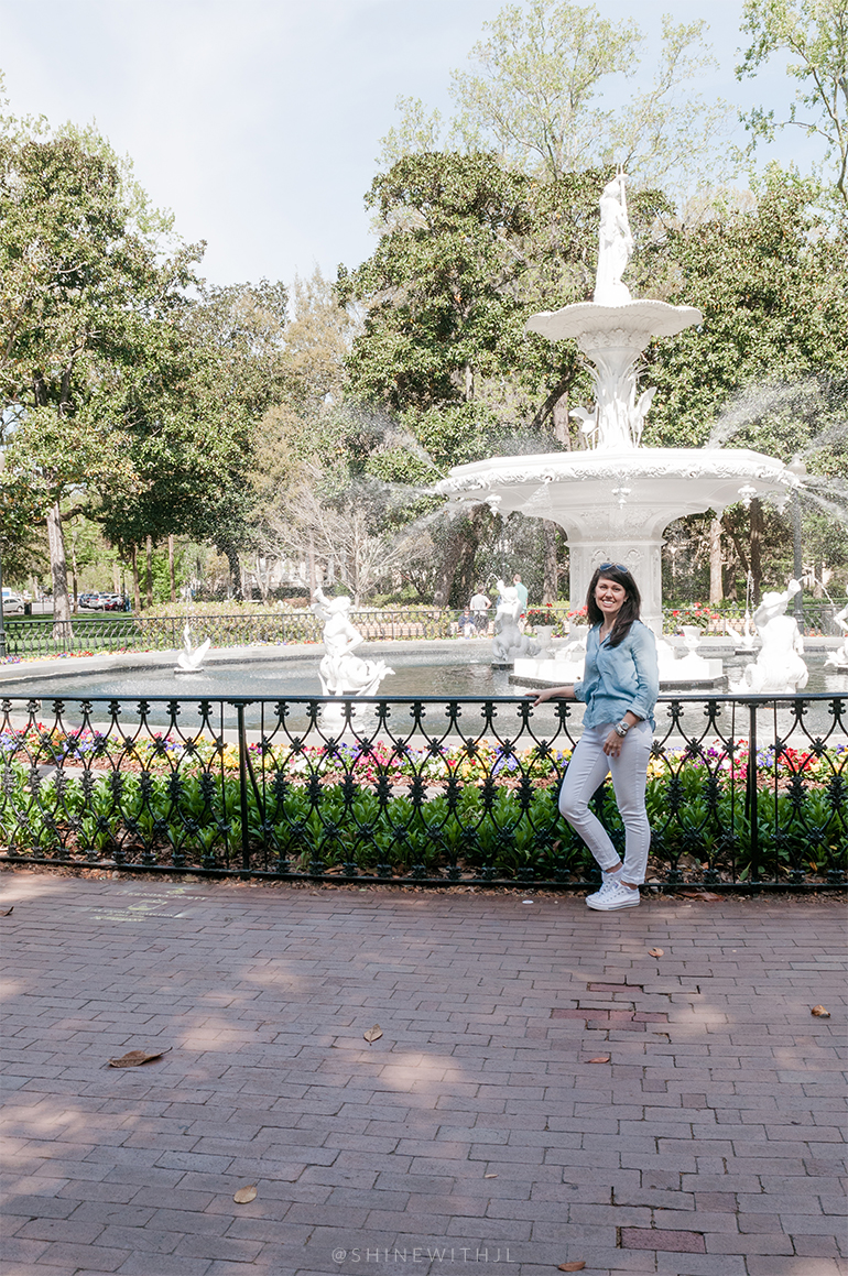 forsyth park fountain portrait shinewithjl