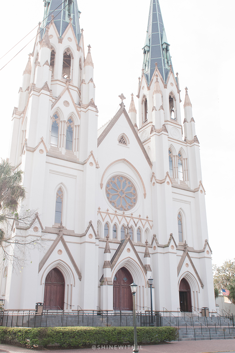 cathedral of st john the baptist historic district savannah