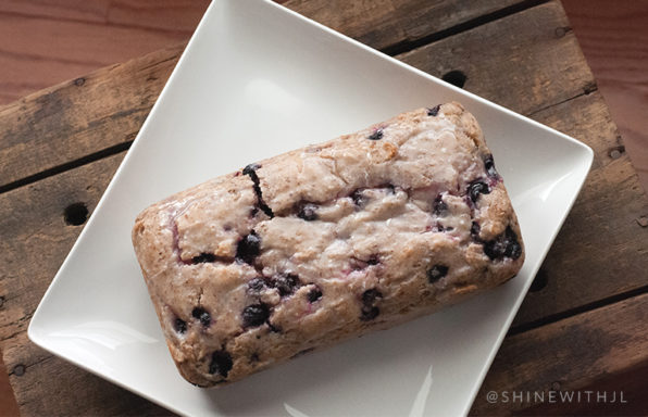 gluten free dairy free lemon blueberry bread recipe