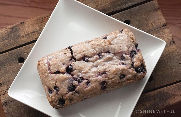 gluten free dairy free lemon blueberry bread recipe