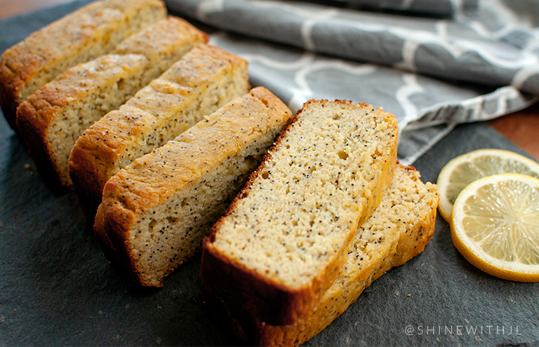 grain free dairy free gluten free lemon poppy seed bread recipe