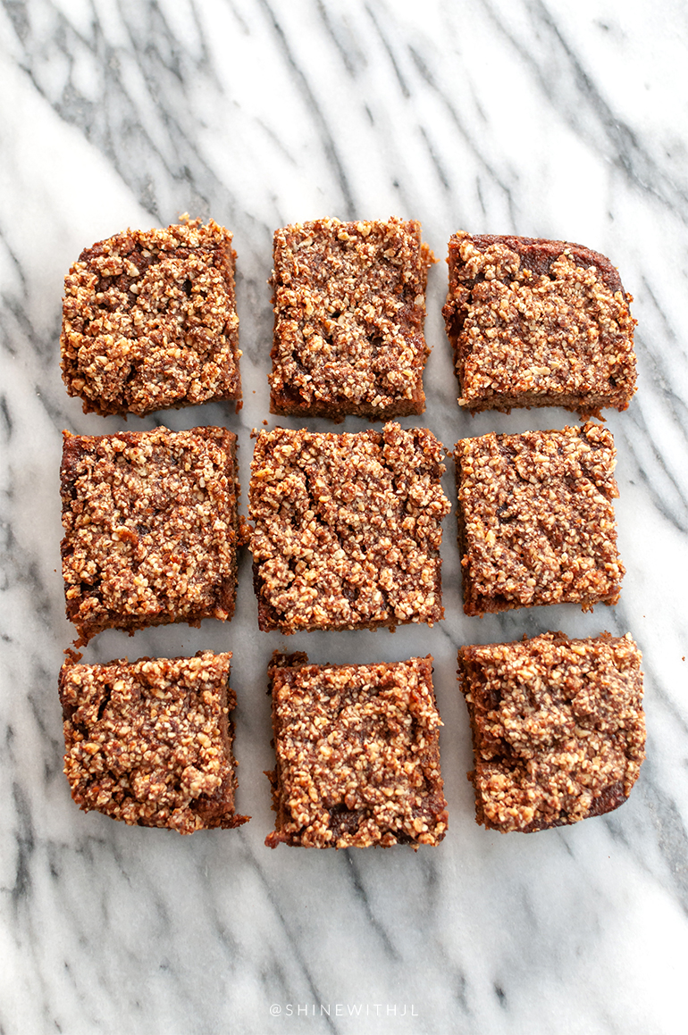 grain free pumpkin nut bar squares shinewithjl