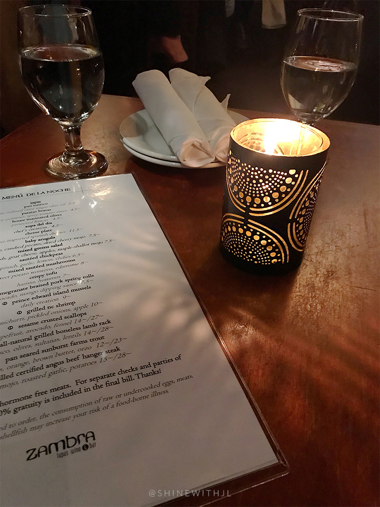 candlelit dinner zambra tapas and wine bar asheville nc restaurant