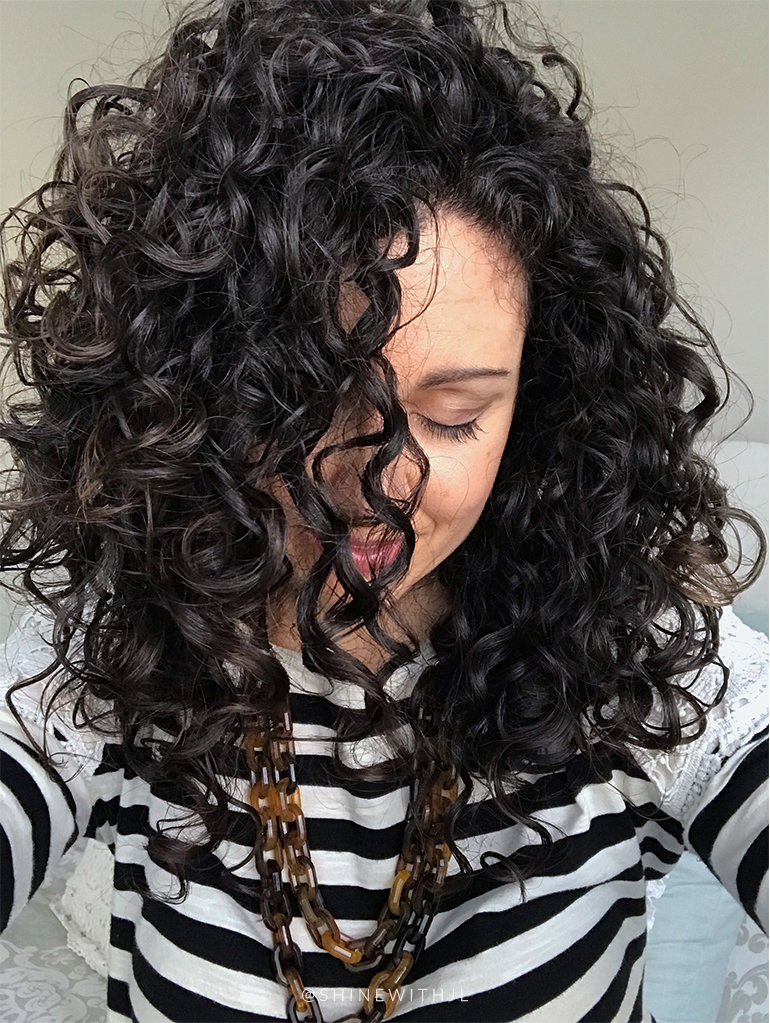 low porosity curly hair results with heat cap conditioning