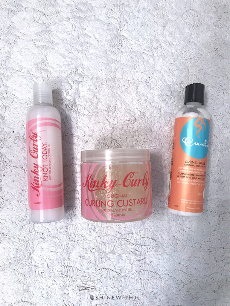 Simple Curly Girl Styling Routine: Only 3 Products