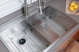 kraus stainless steel double sink review
