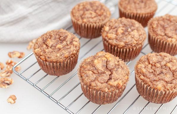 gluten free dairy free banana nut muffin recipe