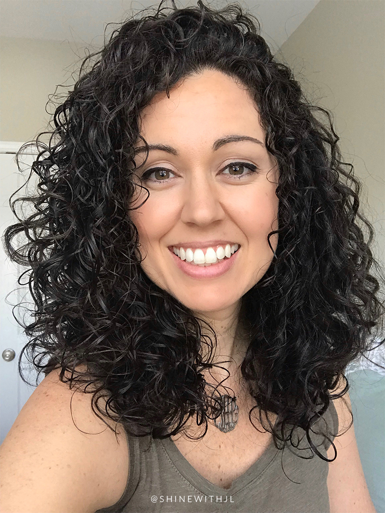 long curly hair devacurl cut