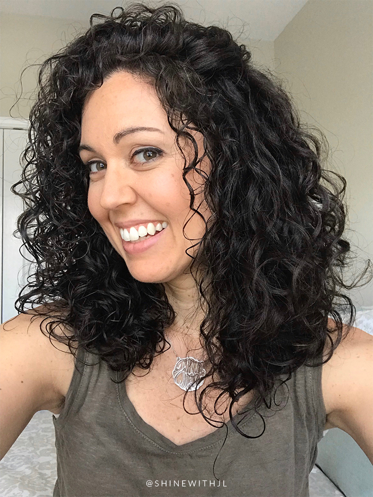 layered curly hair cut curly girl method