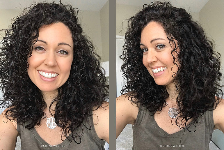 devacurl cut results curly hairstyle medium