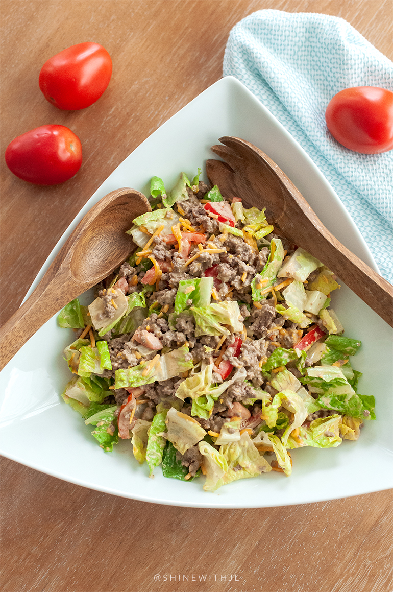 keto recipes burger salad