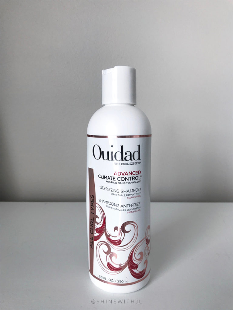 ouidad the curl experts advanced climate controal anti-frizz shampoo