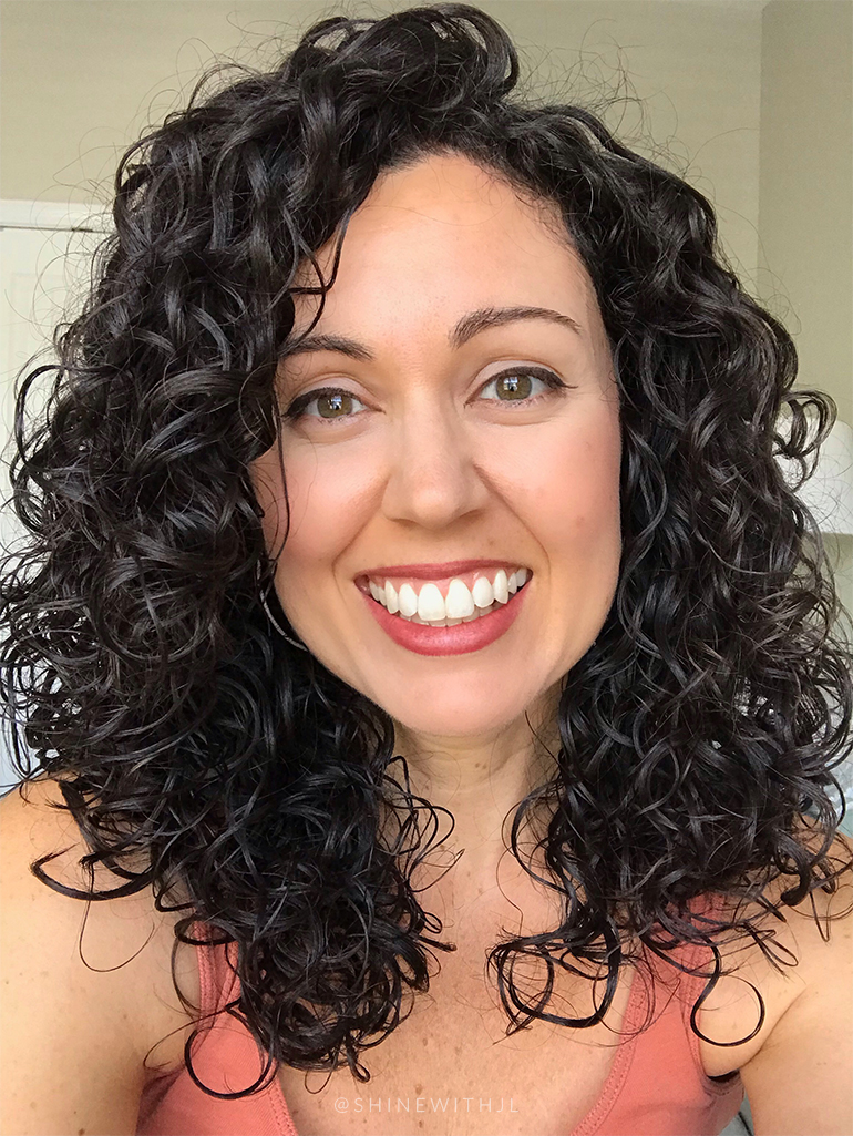 serenity and scott gluten free makeup look olive skin dark curly hair
