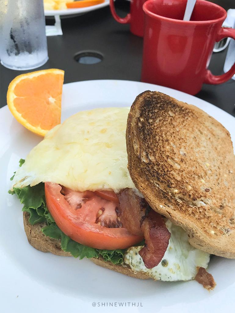 the jennifer breakfast sandwich famous toastery
