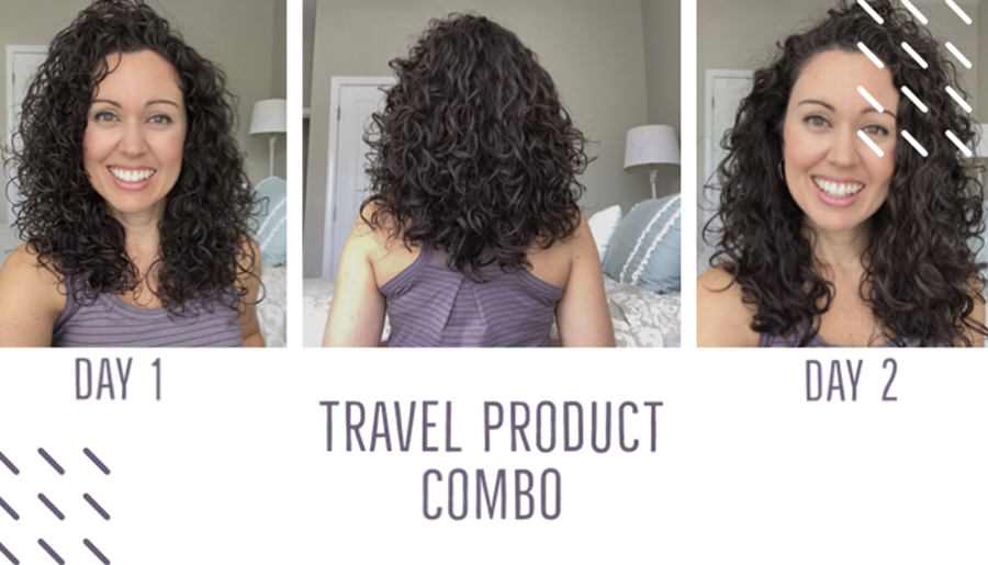 Curly Hair Travel: 3 Products