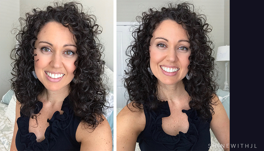 How I Refreshed My Day 3 Curly Hair