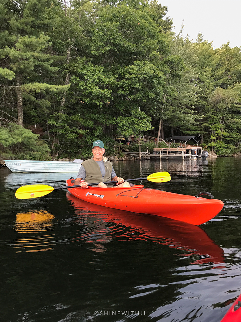 wilderness systems kayak lake waukewan