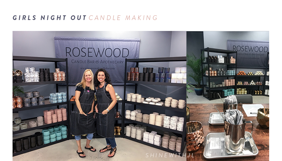 Girls Night Out: Rosewood Candle Bar