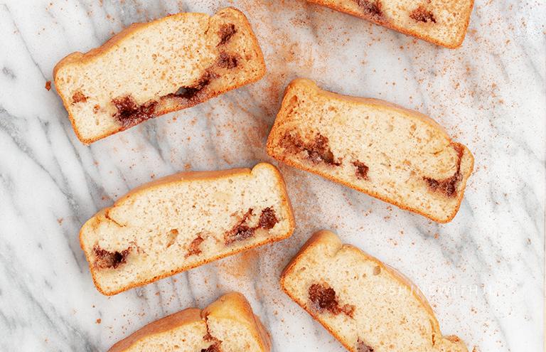 cinnamon cream cheese bread grain free gf