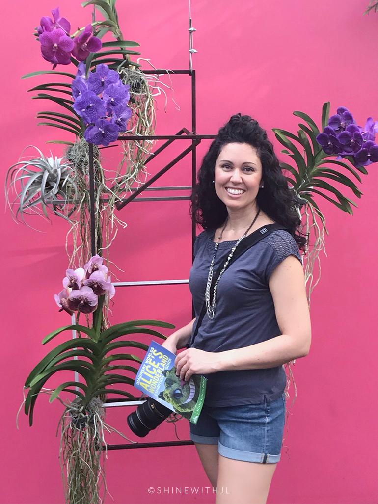 instagram selfie atlanta botanical gardens