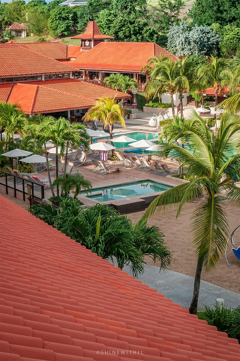morning views at sandals grenada resort