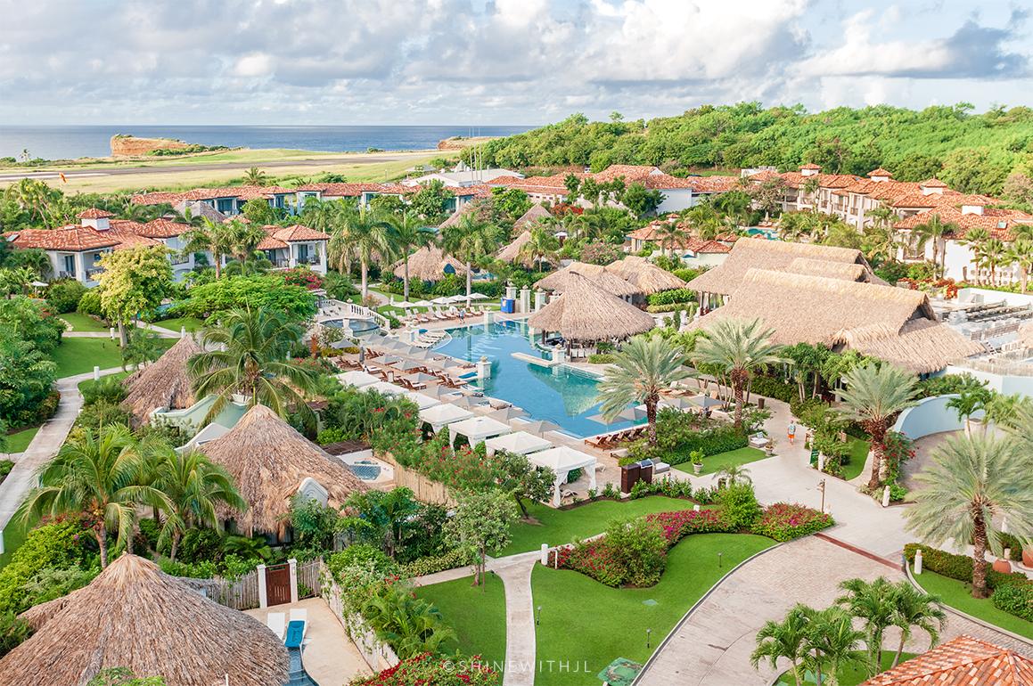 Sandals Grenada South Seas Main Pool and Property