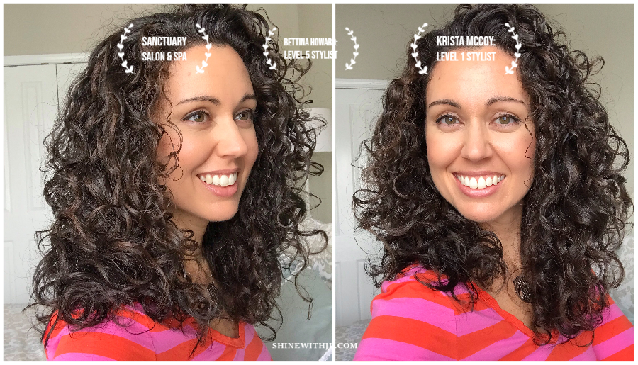 My Last Curly Girl Cut with Sanctuary Salon and Spa