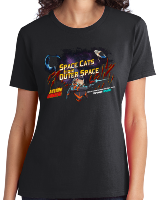 Space Cats from Outer Space! T-shirt
