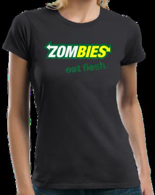 ZOMBIES: EAT FLESH T-shirt