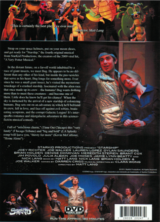 StarKid's Starship on DVD Back