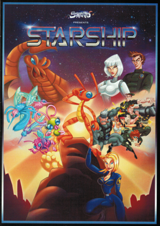 StarKid's Starship on DVD Front
