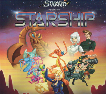 StarKid's Starship (Original Cast Album) Front