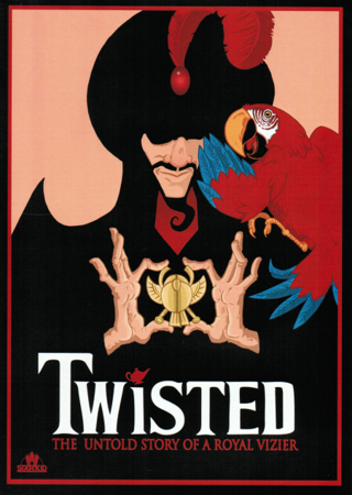 StarKid Presents 'Twisted: The Untold Story of a Royal Vizier' DVD Front