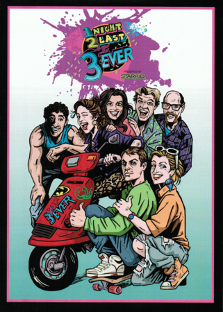 StarKid Presents '1Night 2Last 3Ever' Comedy Show DVD Front