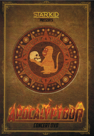 StarKid's Apocalyptour on DVD Front