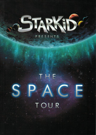 StarKid's SPACE Tour on DVD Front