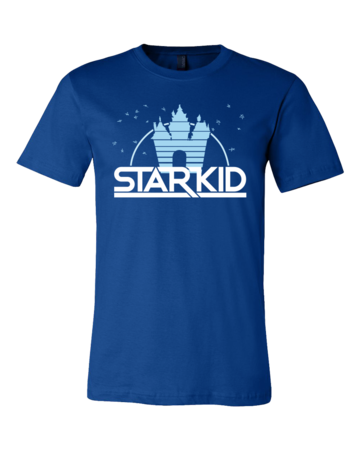 StarKid '2D' Logo Standard Royal Blue Blank with Depth Front