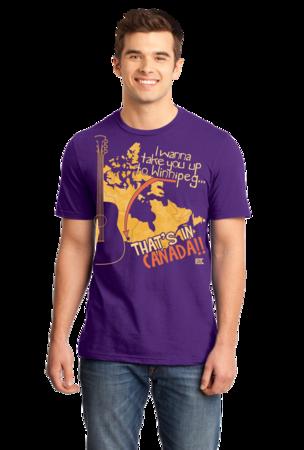 "Starkid Winnipeg ""That's In Canada"" Standard Purple Stock Model Front 1 Front"