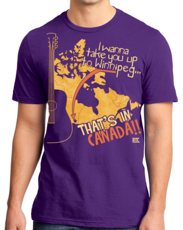 "Starkid Winnipeg ""That's In Canada"" Standard Purple Stock Model Front 1 Thumb Front"
