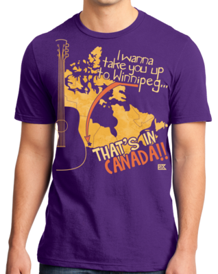 "Starkid Winnipeg ""That's In Canada"" T-shirt"