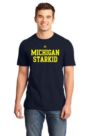 Michigan Starkid Standard Navy Stock Model Front 1 Front