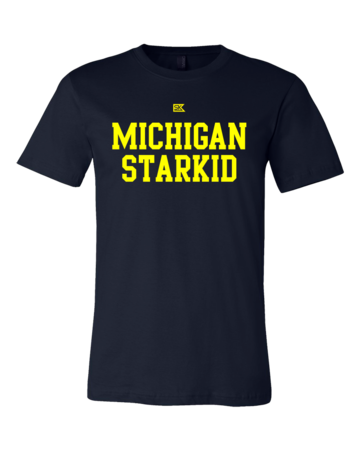 Michigan Starkid Standard Navy Blank with Depth Front