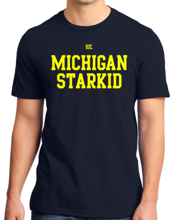 Michigan Starkid Standard Navy Stock Model Front 1 Thumb Front