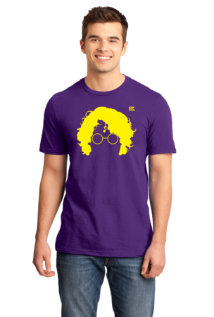 StarKid AVPM Profile Tee Standard Purple Stock Model Front 1 Front