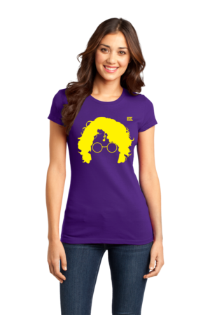 StarKid AVPM Profile Tee Girly Purple Stock Model Front 1 Front