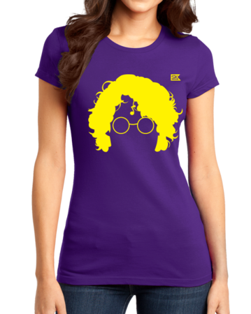 StarKid AVPM Profile Tee Girly Purple Stock Model Front 1 Thumb Front