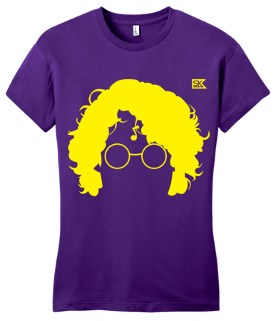 StarKid AVPM Profile Tee Girly Purple Blank with Depth Front