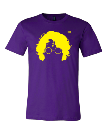 StarKid AVPM Profile Tee Standard Purple Blank with Depth Front