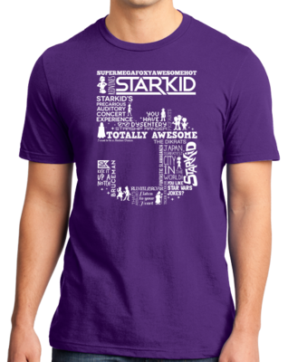 StarKid 5th Anniversary Hoodie Standard Purple Stock Model Front 1 Thumb Front