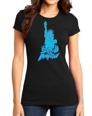 StarKid Takes Manhattan Rumbleroar Statue of Liberty Girly Black Stock Model Front 1 Thumb Front